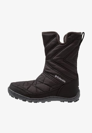 YOUTH MINX SLIP III - Winter boots - black/white