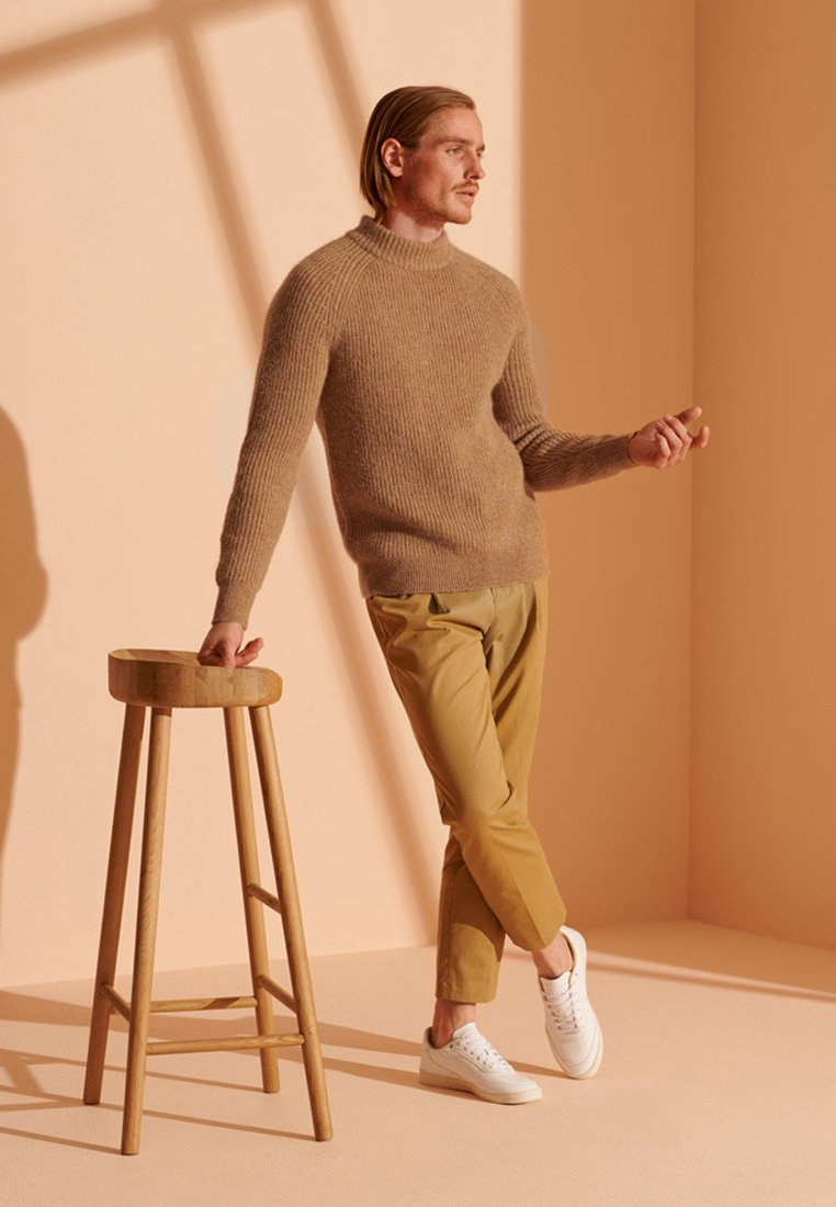 Homme ALPACA BLEND CREW - Pullover