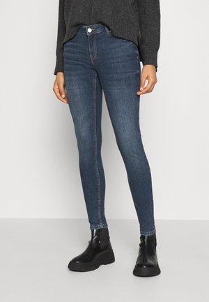 VMLYDIA SKINNY  - Skinny džíny - dark blue denim