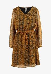 ICHI - Day dress - buckthorn brown - 5