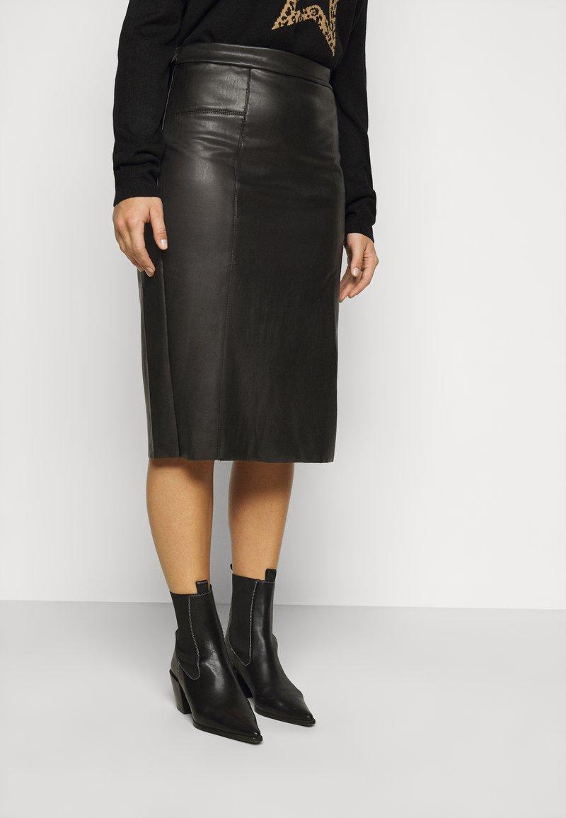 Evans - SKIRT - Pencil skirt - black
