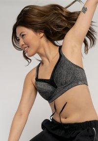 DORINA - Sports bra - grey melange - 3