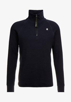 JIRGI-S HALF ZIP - Bluzka z długim rękawem - mazarine blue