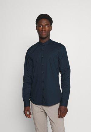 LOGO STRETCH SLIM - Zakelijk overhemd - navy