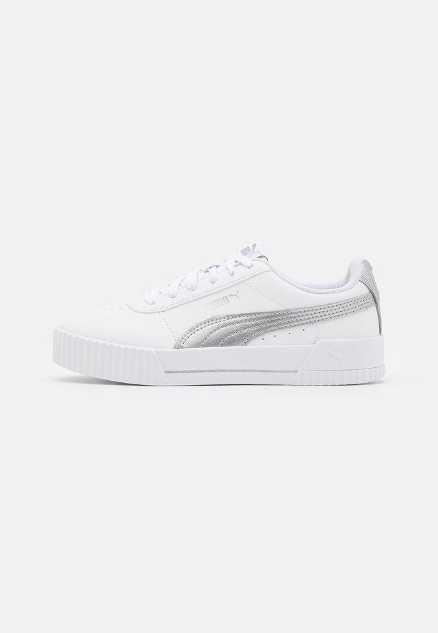 CARINA META20 - Zapatillas - white/silver