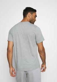 Nike Performance - TEE ATHLETE - Print T-shirt - dark grey heather - 2