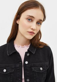 Bershka - Denim jacket - black - 3