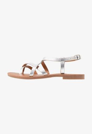 ONLMANDALA CROSSOVER  - Flip Flops - silver