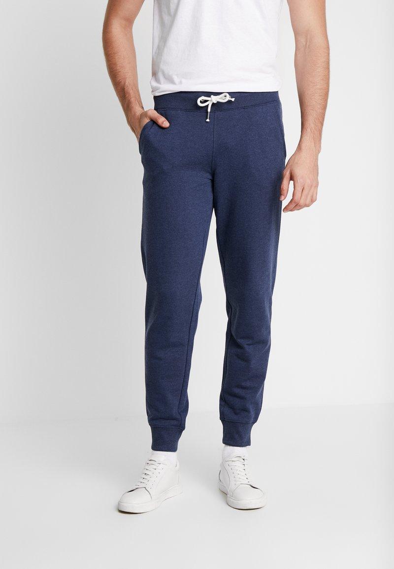 Pier One - Spodnie treningowe - mottled dark blue