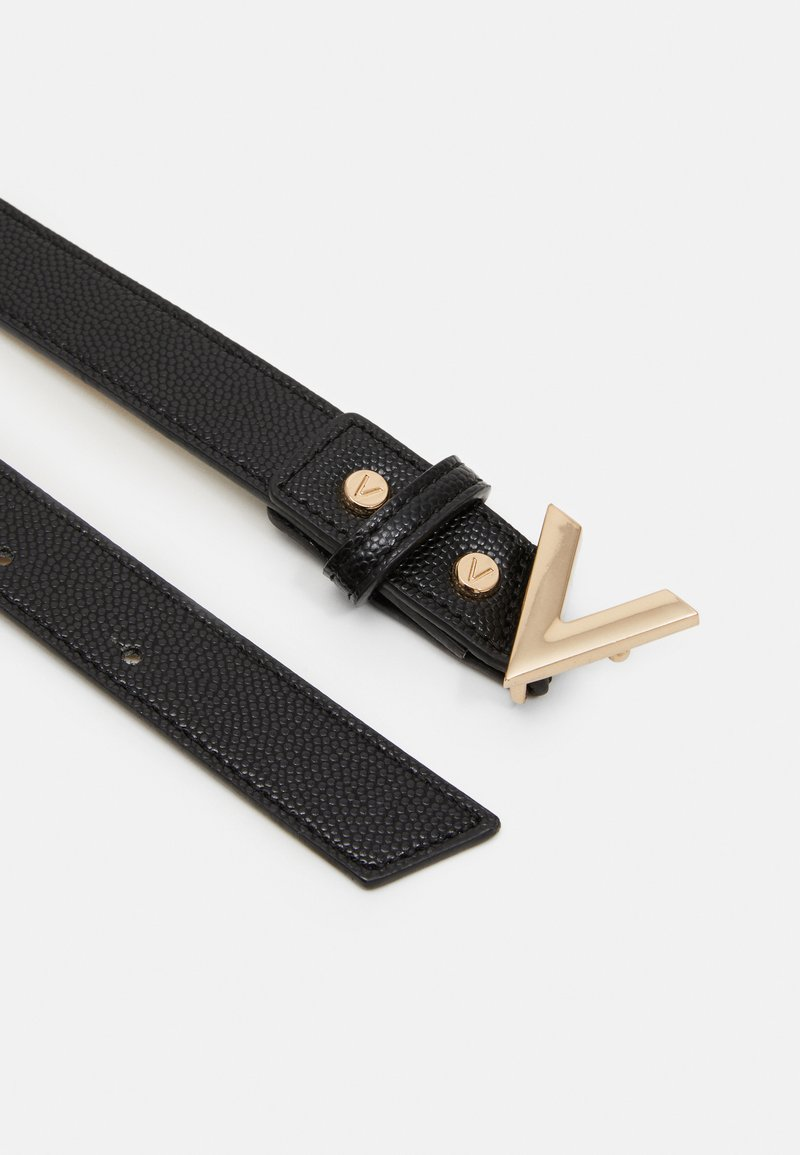 Valentino by Mario Valentino - DIVINA PLUS - Belt - nero/gold-coloured