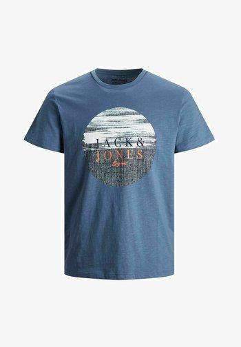 JUNGS PINSELSTRICH - Print T-shirt - ensign blue