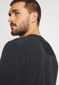 Nike Performance - TRAIL RISE - T-shirts print - black/silver - 3