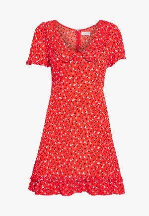 LADIES DRESS - Day dress - sweet red