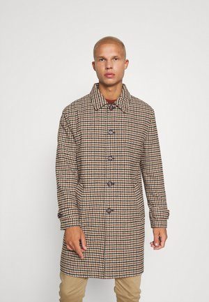 EVIAN CHECKED COAT UNISEX - Mantel - brown