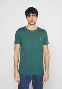 Marc O'Polo - SHORT SLEEVE - T-shirt basic - bistro green - 0