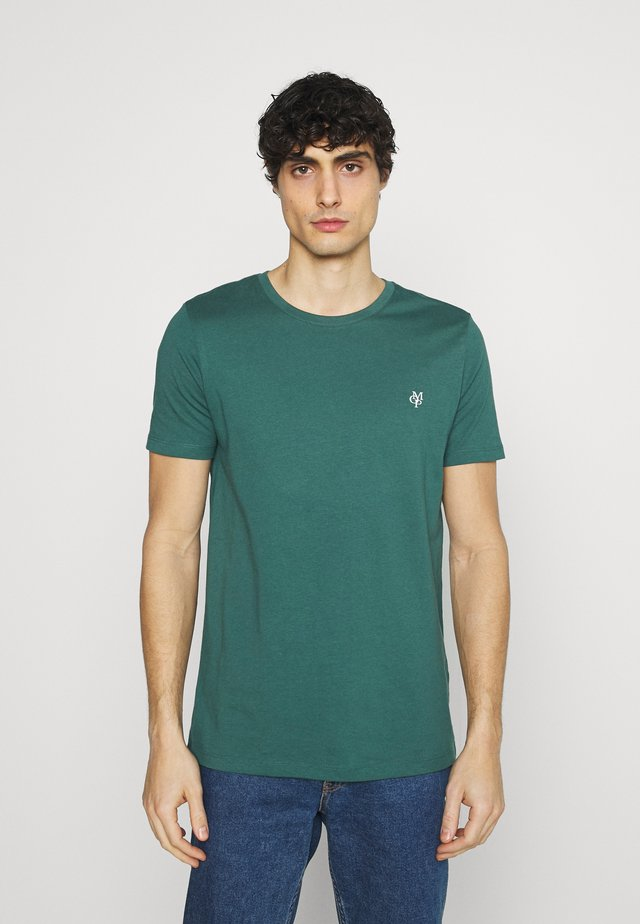SHORT SLEEVE - Jednoduché triko - bistro green
