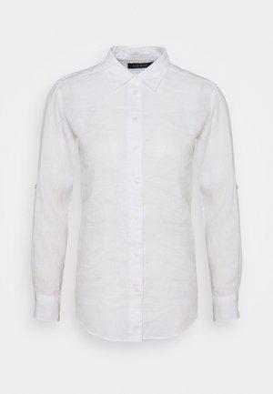 KARRIE - Button-down blouse - white