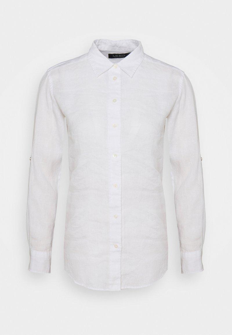 Lauren Ralph Lauren Petite - KARRIE - Button-down blouse - white