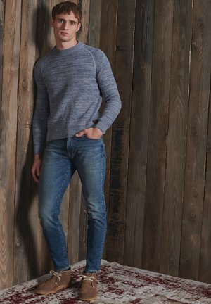 Pullover - shore blue twist