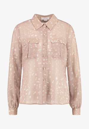 DEER PRINT WITH POCKET DETAIL - Blouse - light pink