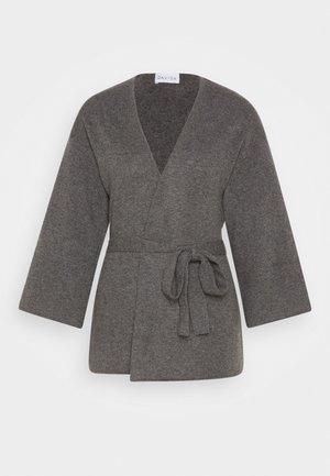 KIMONO - Cardigan - dark gray