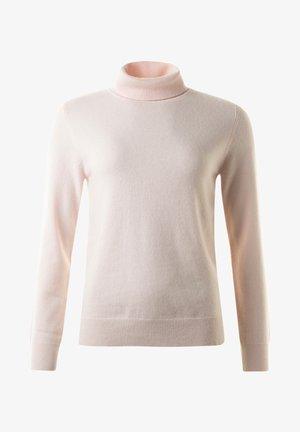 JOHN - Stickad tröja - nudemel