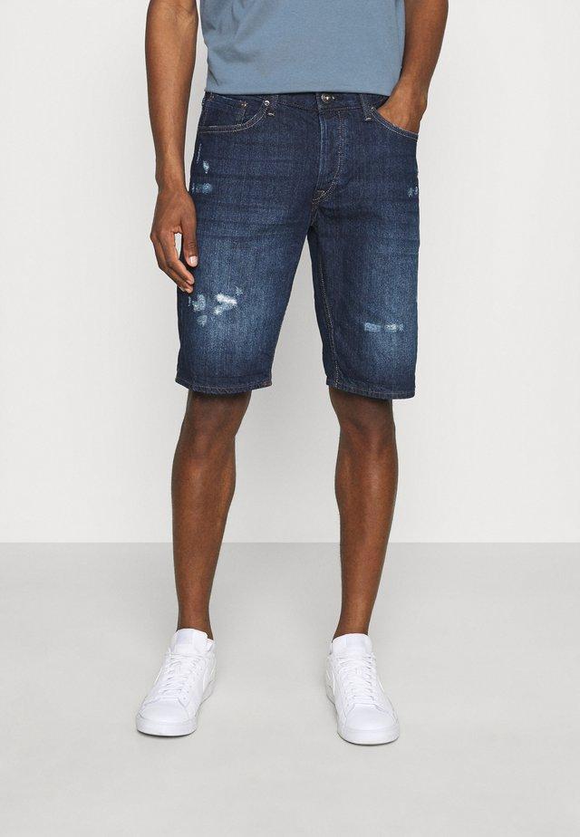 HARROW - Shorts di jeans - blue denim