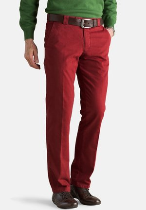 ROMA - Trousers - red