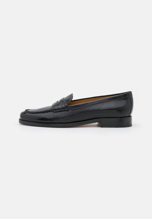 MIA 1 - Nazouvací boty - black/rich tan