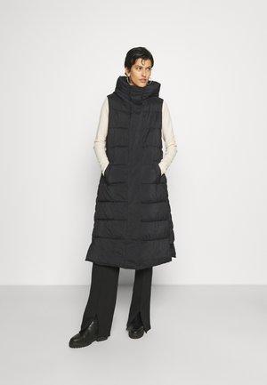 YASLIRA PADDED VEST - Waistcoat - black