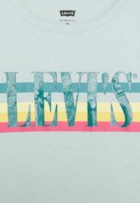 Levi's® - GRAPHIC TEE UNISEX - Print T-shirt - grey - 2