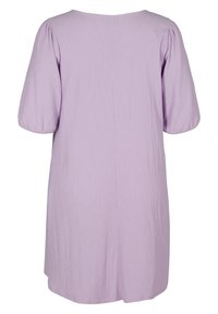 Zizzi - Jersey dress - purple rose - 4