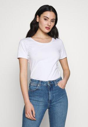 FIZVALLEY - Basic T-shirt - blanc