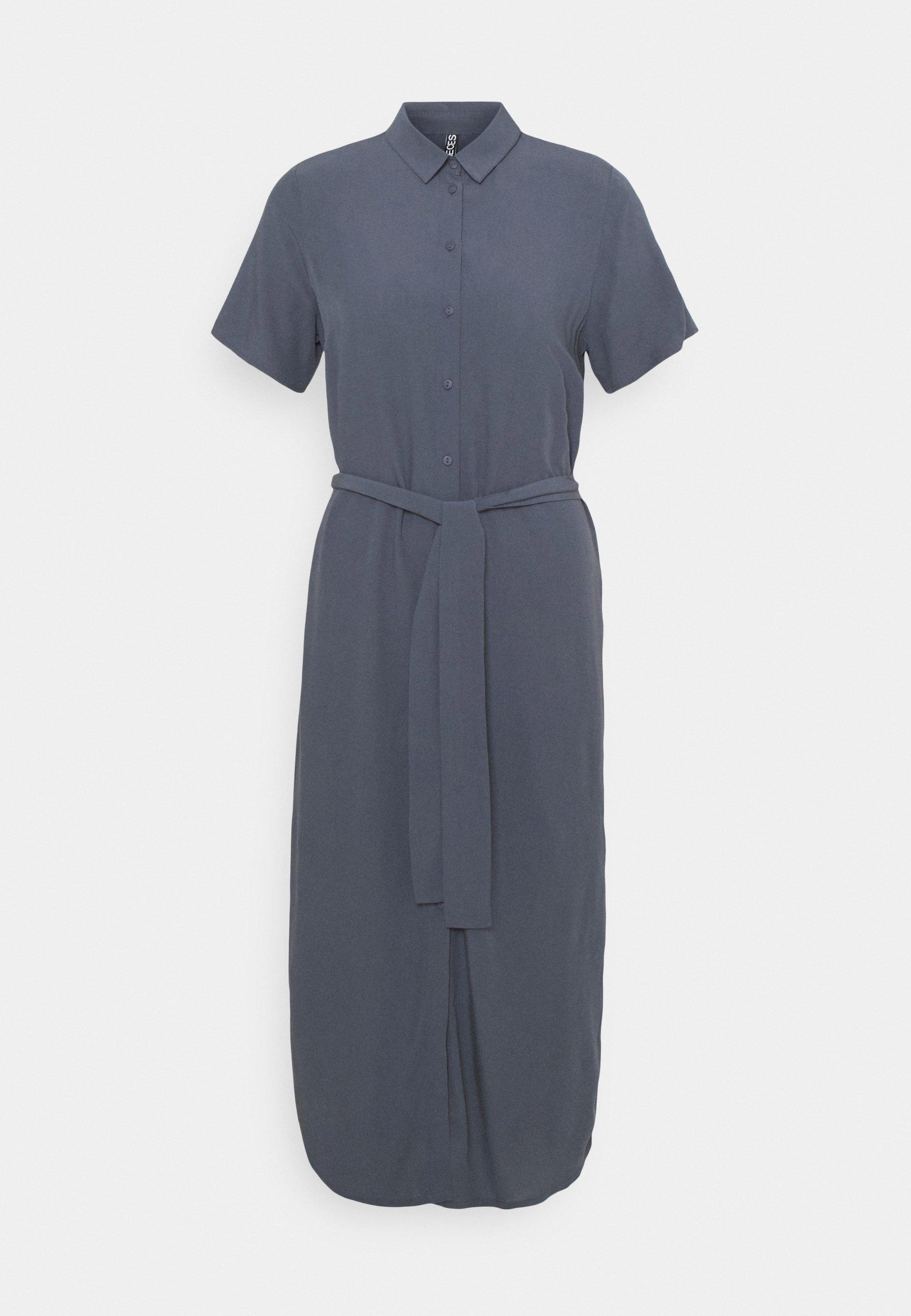Donna PCCECILIE DRESS - Abito a camicia