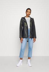 Hunter ORIGINAL - WOMENS ORIGINAL SMOCK - Waterproof jacket - dark olive - 1