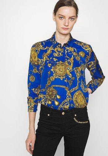 Košile - blue/gold