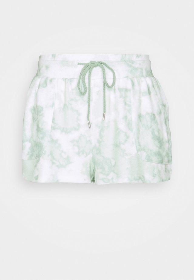 T-SHIRT AND POCKET SHORT  - Pyjama - mint tonal