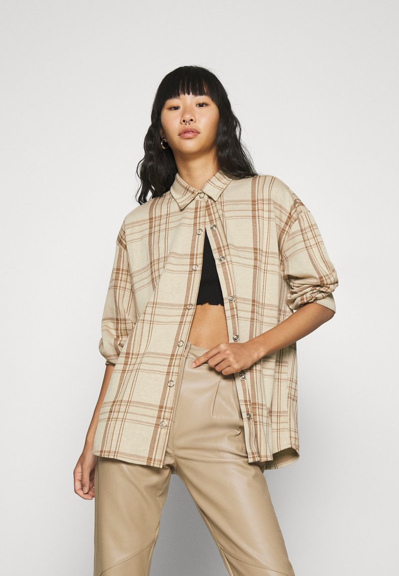 Nly by Nelly - ALL I NEED SHACKET - Summer jacket - beige
