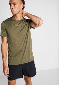 Craft - CORE ESSENCE TEE  - Print T-shirt - rift - 3