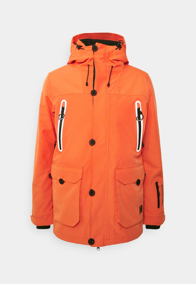 Superdry - FREESTYLE JACKET - Kurtka narciarska - havana orange