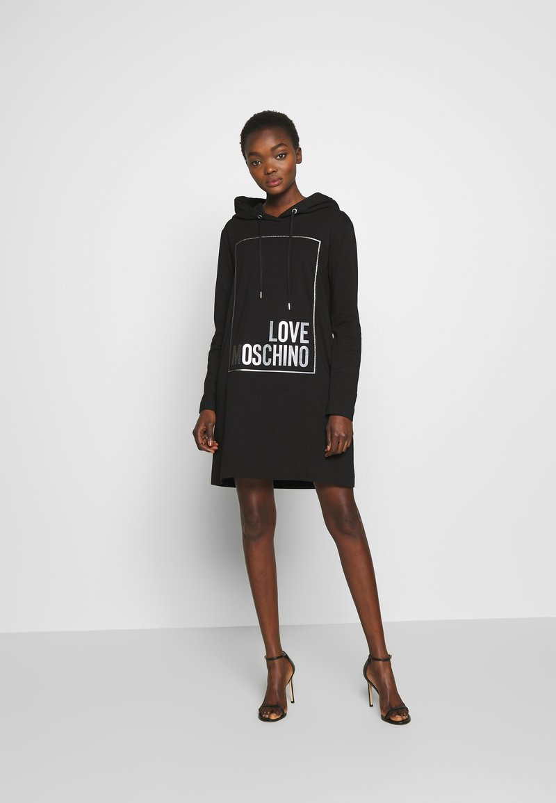 Love Moschino - Korte jurk - black