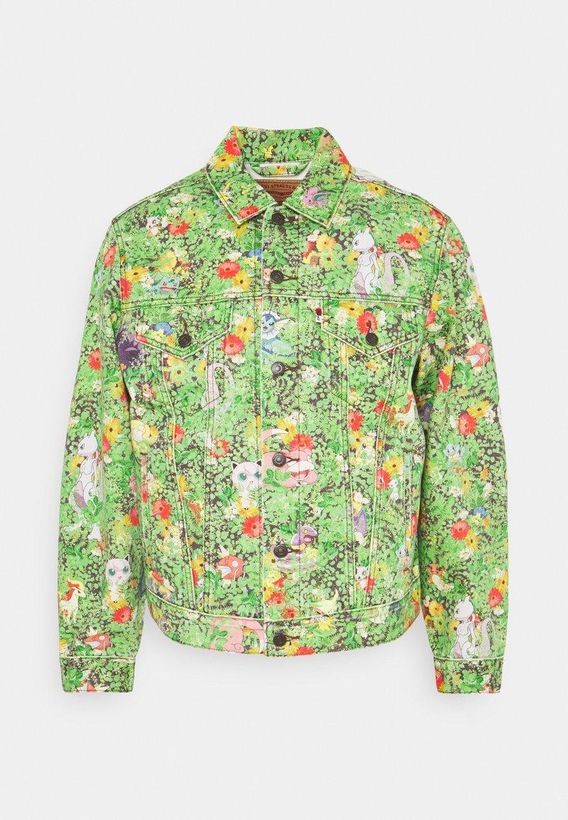 Levi's® - LEVI'S® X POKEMON VINTAGE FIT TRUCKER UNISEX - Veste en jean - multicolor
