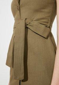 Trendyol - PARENT - Shirt dress - green - 4