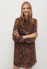 Mango - OSLO - Day dress - marron - 0