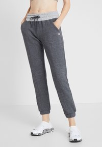 Champion - PANTS - Træningsbukser - mottled light grey - 0