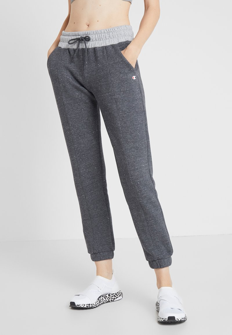 Champion - PANTS - Træningsbukser - mottled light grey