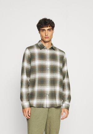 BRUSHED - Overhemd - green plaid