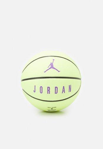 ULTIMATE  - Balón de baloncesto - liquid lime/black/wild berry