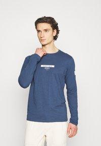 Redefined Rebel - GUTI TEE - Långärmad tröja - dark denim - 4