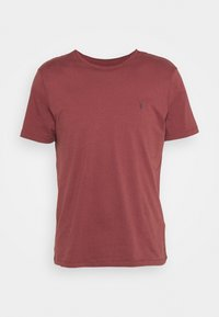 AllSaints - BRACE CONTRAST CREW - Basic T-shirt - tuscan red - 4